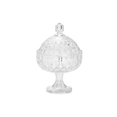 Bomboniere em cristal Wolff Angelica 32,5cm