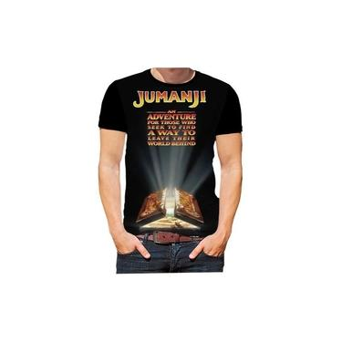 Camiseta Camisa Jumanji Filmes Cinema Jogos Séries Hd 09