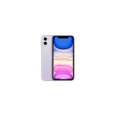 "iPhone 11 Apple (128GB) Lilás Tela 6,1"" Câmera 12MP iOS"