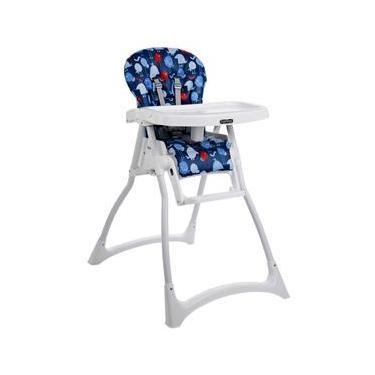 Cadeira para Refeição Peg-Pérego Merenda Passarinho - 0 até 15kg - Azul