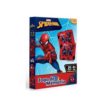 Imagem de Novo Papel Jogo de Memória do Homem Aranha Marvel 8016
