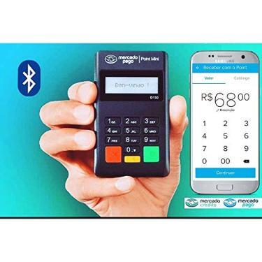 Maquininha De Cartão Leitor Point Mini Bluetooth d150