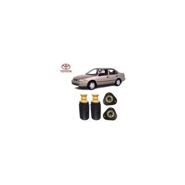 2 Kit Batente Coifa Coxim Dianteiro Toyota Corolla 1998 1999 2000