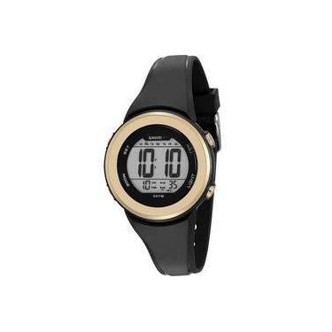 3e9328fa354 Relógio Feminino Speedo 81152L0EVNP1 Digital Preto