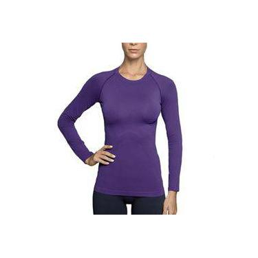 Camiseta Sem Costura Lupo Manga Longa Feminino Térmica Lupo  ref.71012