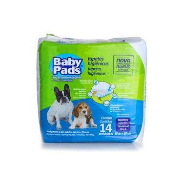 Tapete Higiênico Petix Baby Pads Para Cães - 14 Unidades