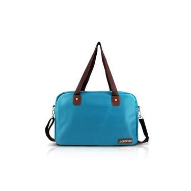 Bolsa De Bordo ou Academia azul turquesa Jacki Design