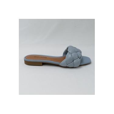 Chinelo Bottero 323106 Lilia Slide em couro legítimo