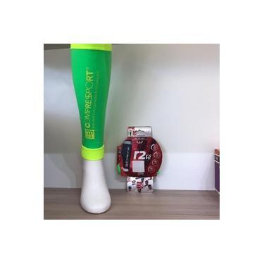 Canelito de Compressão R2V2 Compressport T4 Verde
