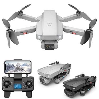 Imagem de Drone S1 LVOD, Quadrotor RC Drone de câmera de longa distância 6K HD GPS 5G FPV Drone dobrável sem escova profissional PK L900
