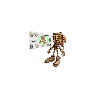 Imagem de Brinquedo Quebra Cabeça 3D Sonic Mdf
