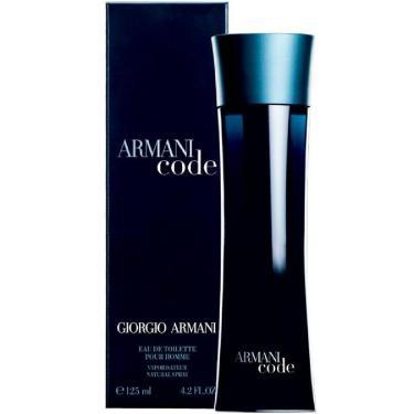 7aad6c93d4b Perfume Code EDT Masculino 125ml - Armani