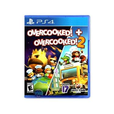 Overcooked! + Overcooked! 2 - Double Pack - PS4