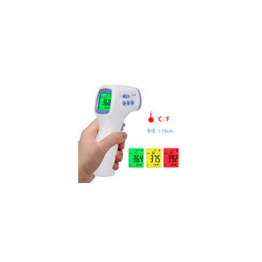 Termômetro infravermelho digital Medidor de temperatura Objeto Dispositivo de medição de temperatura sem contato 4 Modos de configuração 99 memórias e comutável