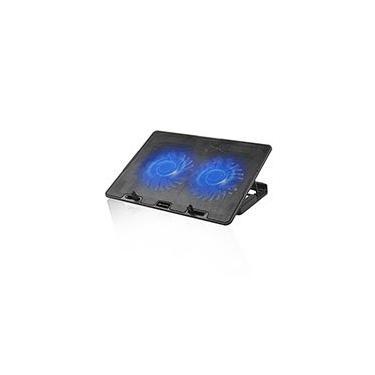 Base p/notebook c/ 2 coolers NBC-50BK C3Tech CX 1 UN