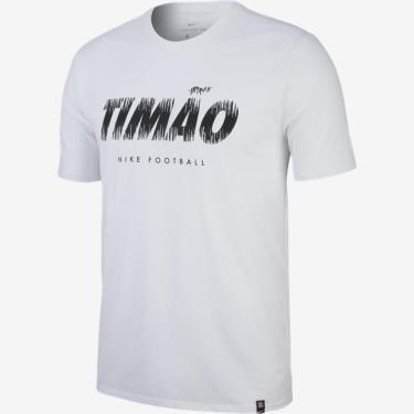 Camisas de Times de Futebol Casuais Corinthians Nike  f0e05304e0a71