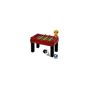 Imagem de Pebolim mesa totó embutido luxo oficial varão embutido klopf - 1051