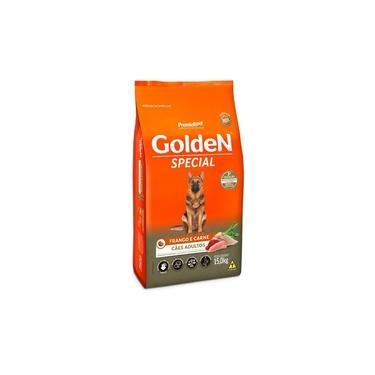 Ração Golden Special Sabor Frango E Carne Cães Adultos 15Kg