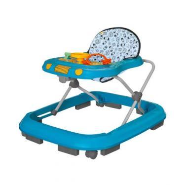 Andador Infantil de Bebê Safari Azul - Tutty Baby - Tutti baby