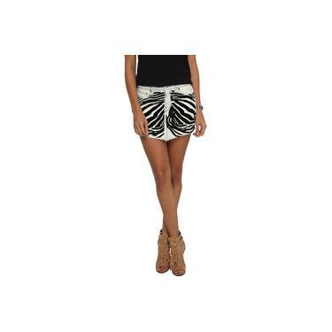 Saia Jeans 284 Flocado Zebra