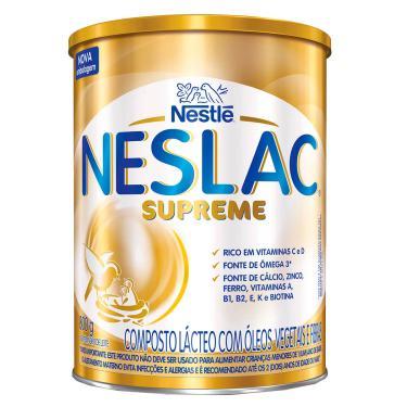 Composto Lácteo Neslac Supreme com 800g 800g