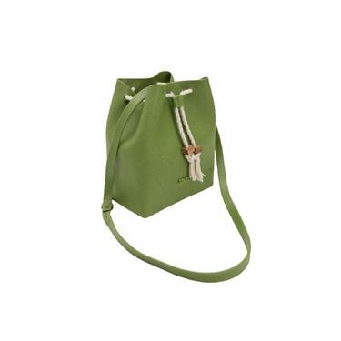 Bolsa Saco Feminina Verde Dracena Colcci 10026