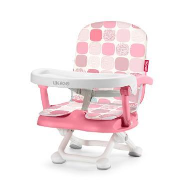 Cadeira De Alimentacao Portatil Up Seat Rosa Weego - 4046 4046