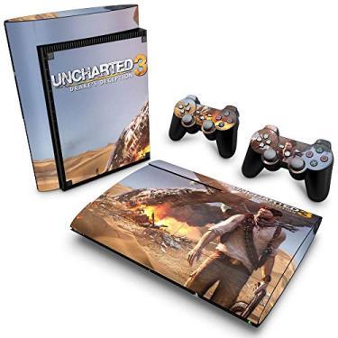 Skin Adesivo para PS3 Super Slim - Uncharted 3
