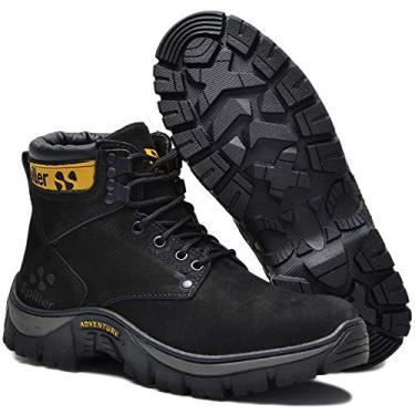 Bota Adventure Coturno Triton Spiller Shoes - Preto Cor:Preto;Tamanho:37