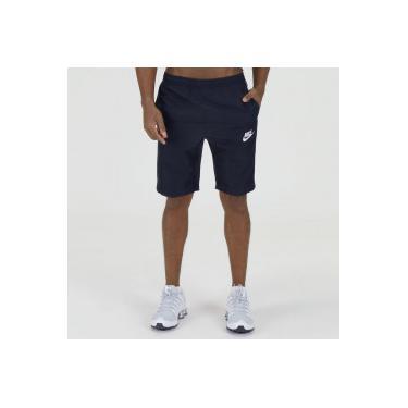 4c5fb132b2 Bermuda Nike Season - Masculina - CINZA ESCURO BRANCO Nike