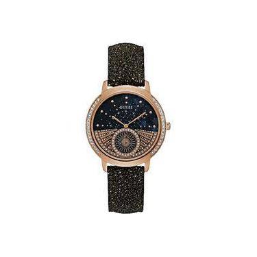 42eb067d4bb Relógio feminino guess pulseira de couro 92669LPGDRC2