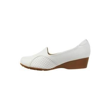 b283c609a Sapato R$ 80 a R$ 1.150 Casual Branco: Encontre Promoções e o Menor ...