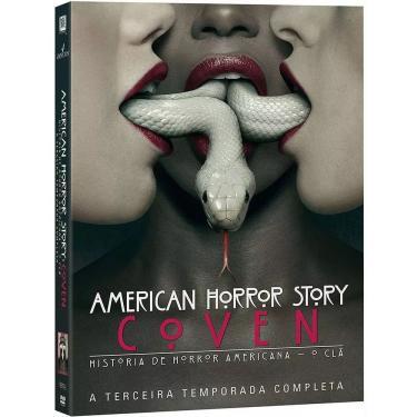 American Horror Story - A Terceira Temporada Completa (DVD)