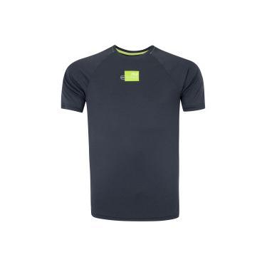 Camiseta com Proteção Solar UV Fila Run Gear - Masculina Fila Masculino