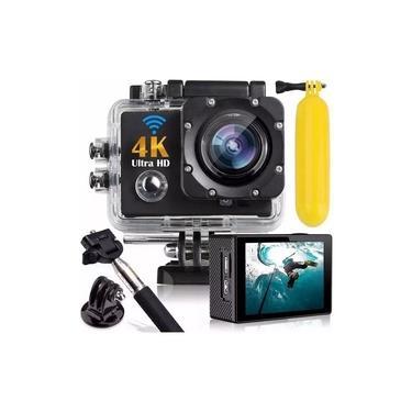 Ultra Câmera Action Go Cam Pro Sports 4k Wifi Prova D'água