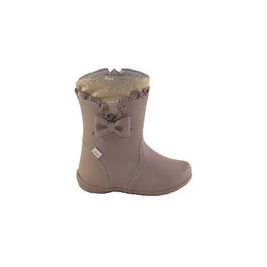 Bota Infantil Kidy Soft Chocolate Ref 154 0090