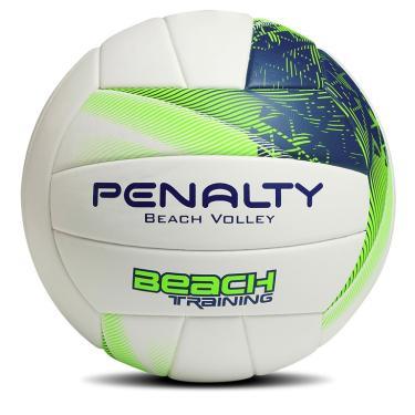 Bola De Vôlei Beach Training Fusion Penalty - Branco Azul Verde e437731f24e7f