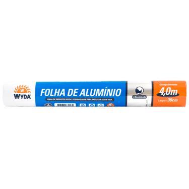 Papel Alumínio 4mx30cm Wyda 1015810