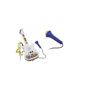 Imagem de Guitarra Musical Eletrônica Com Microfone Brinquedo Infantil