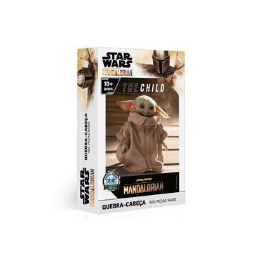 Imagem de Quebra-Cabeça - 500 Peças - Disney - Star Wars - The Mandalorian - The Child - Baby Yoda - Toyster