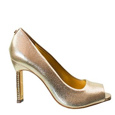 Sapato Peep Toe Jorge Bischoff