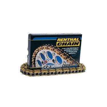 Corrente Renthal R1 420x130 Sem Retentor Gold