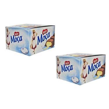 Kit 2 Caixas Chocolate Moça Recheio Leite Condensando 24x38g Nestlé