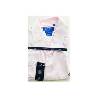 Camisa Social Manga Longa Algodão Egípcio compacto Alfaiataria Premium Dudalina tamanho 5