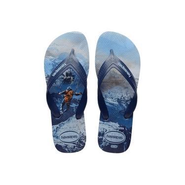 Sandália Havaianas Top Max Sport Azul - Tamanho 41/42