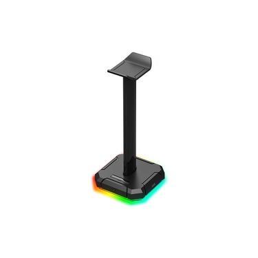 Suporte para Headset Redragon Scepter Pro RGB Preto HA300