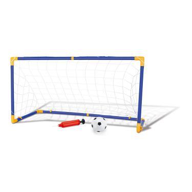 Kit Jogo De Futebol Chute A Gol Com Trave Grande Completo