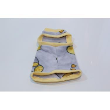 Roupa Pet p/ Gato confortável ribana amarela LisVic Tamanho:4;Cor:ribana amarela