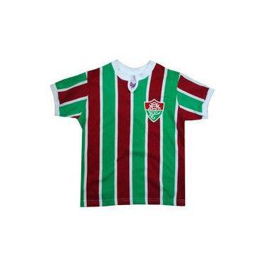 Camisa Liga Retrô Fluminense 1976 Infantil