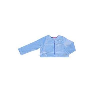 Bolero Momi Plush Azul